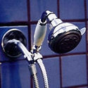 Handheld Shower with Super 5 Blue (Chrome Only) - Product Image