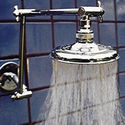 5 1/4 inch Double Arm Rainshower - Product Image
