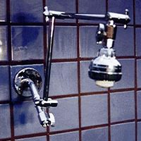 Double Shower Head with Super 3 on Top - Product Image